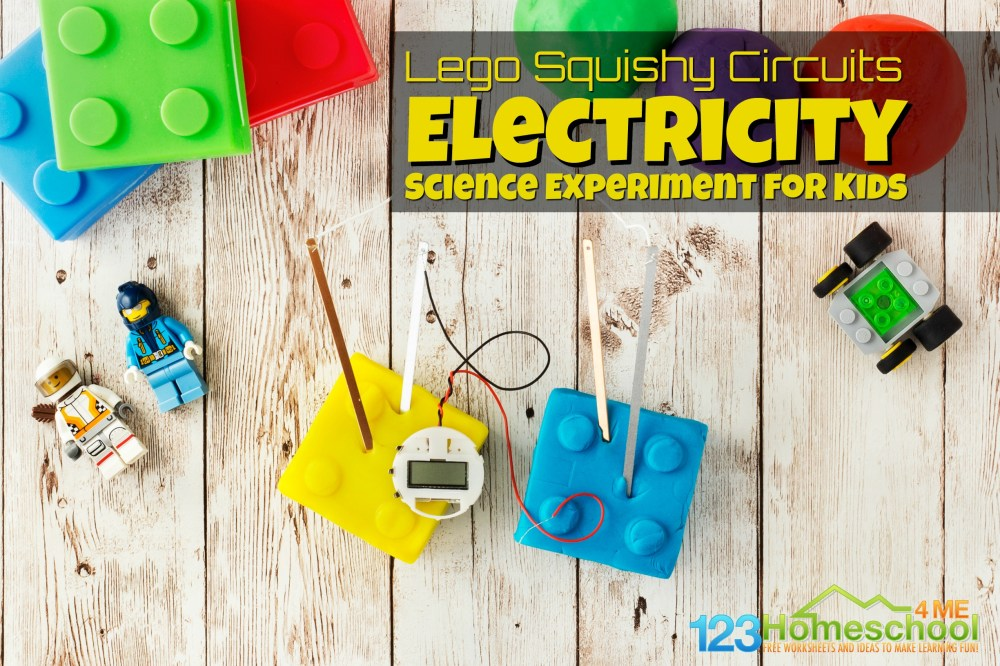 medium resolution of Lego Squishy Circuits Electricity Science Experiment for Kids