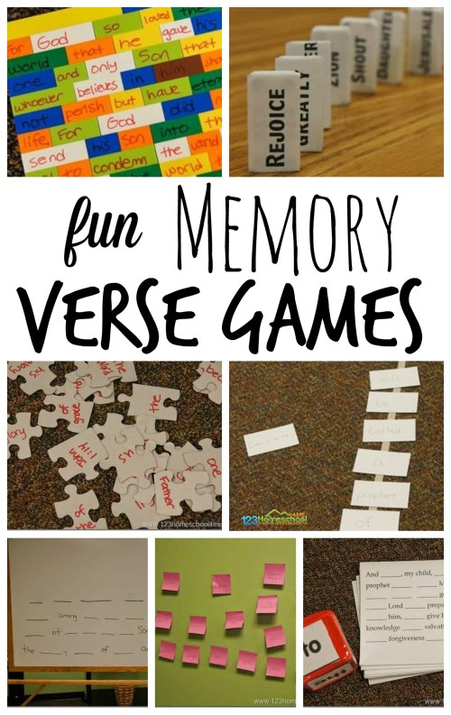 small resolution of 7 FUN Memory Verse Games (work with any verse)