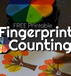 FREE Fingerprint Counting Printables [ 1024 x 1084 Pixel ]