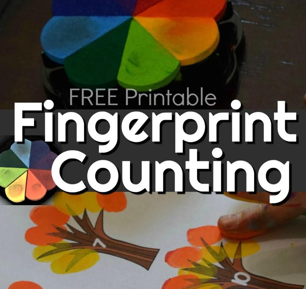 medium resolution of FREE Fingerprint Counting Printables