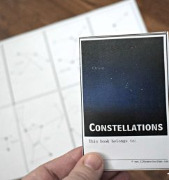 FREE Constellation for Kids Booklet [ 924 x 1386 Pixel ]
