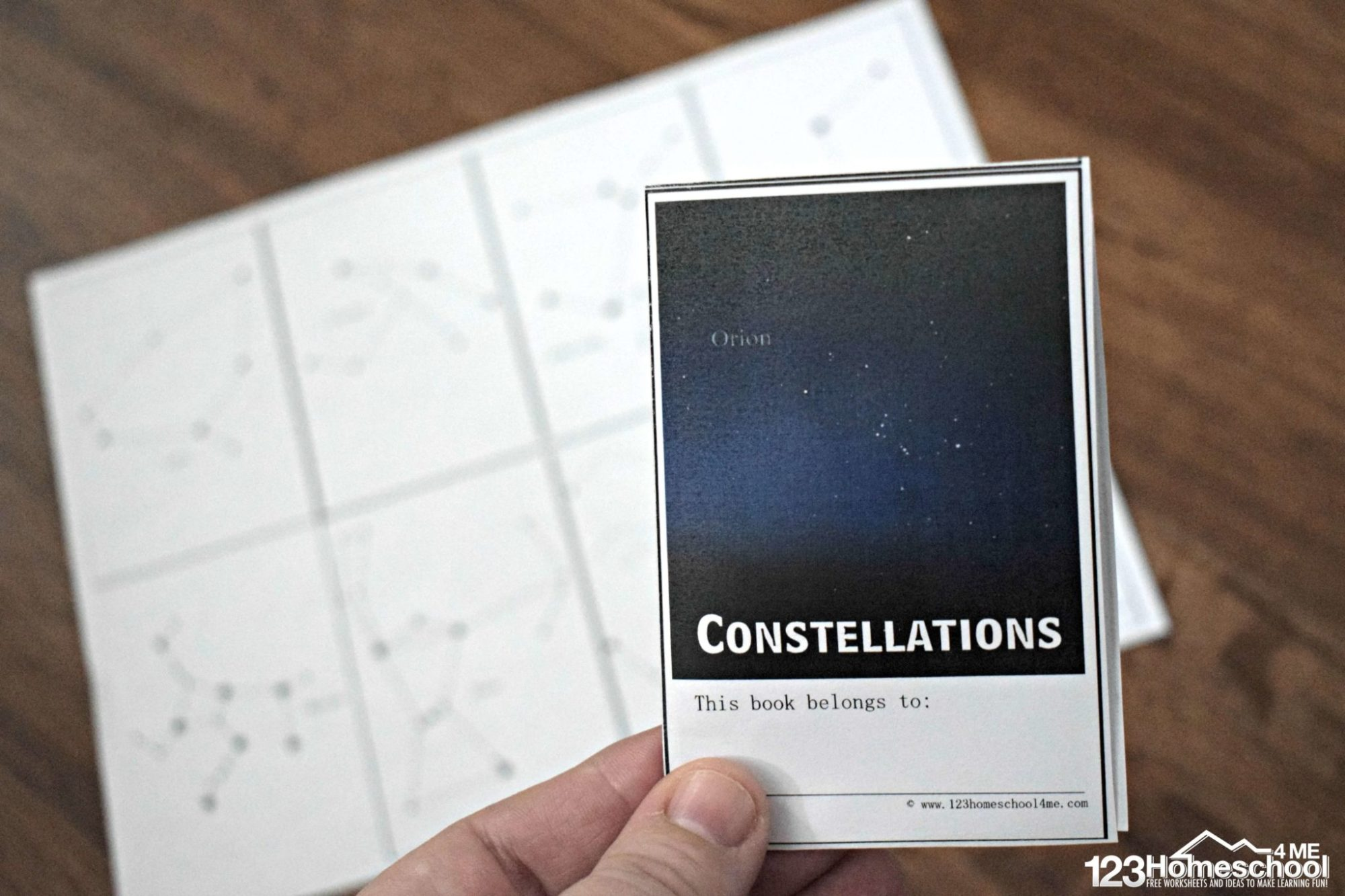 hight resolution of FREE Constellation for Kids Booklet
