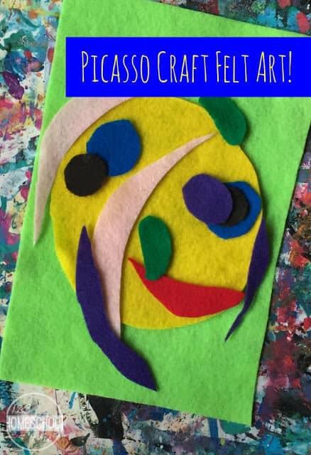 Picasso Craft Felt Art