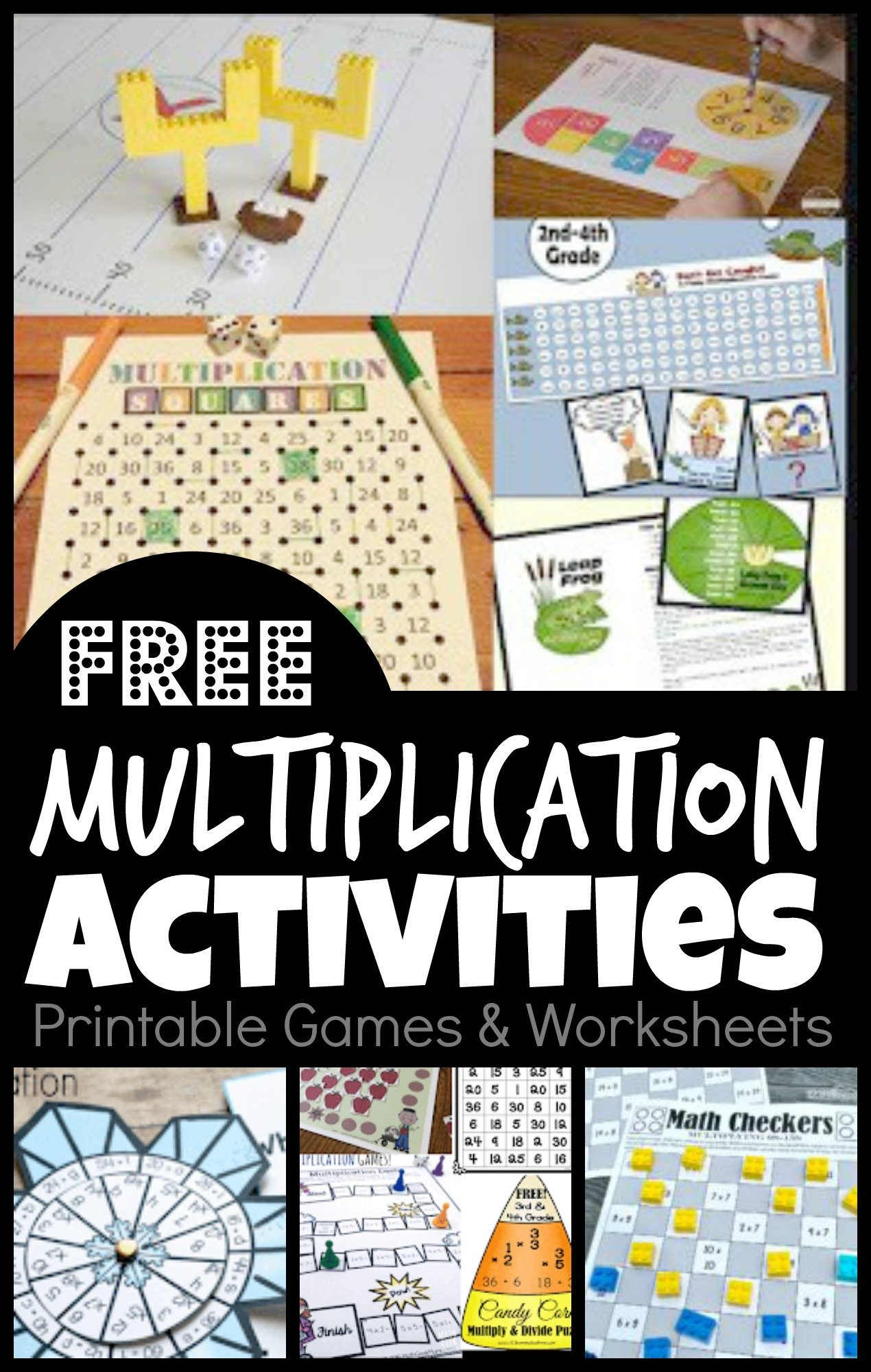 Free Multiplication Activities