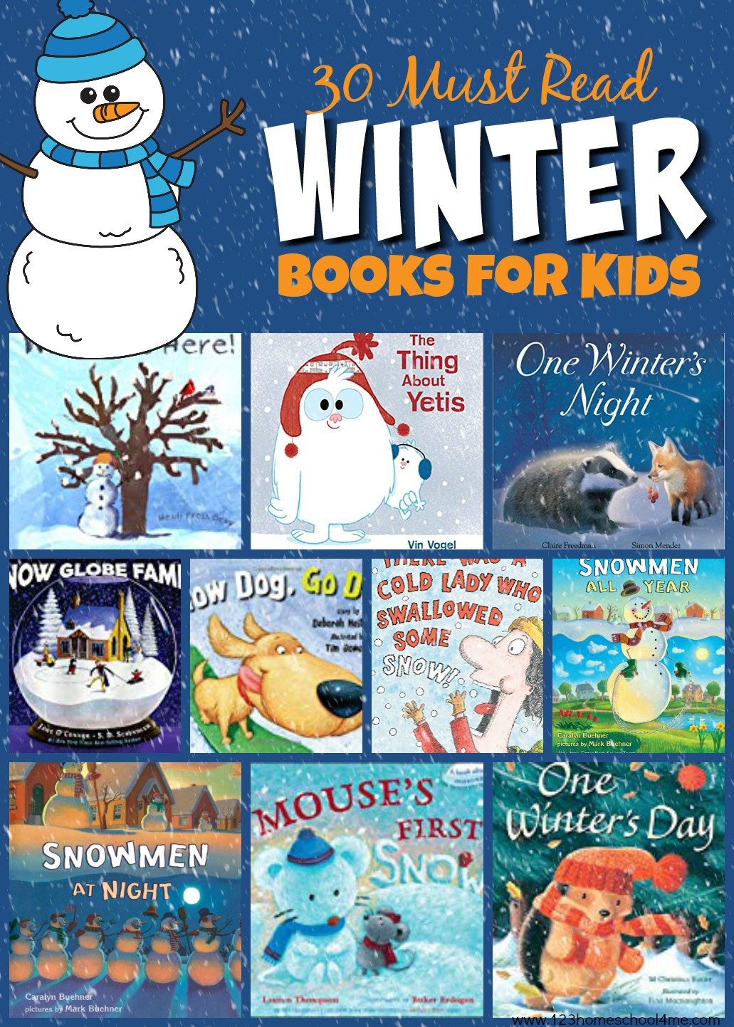 hight resolution of 30 Must Read Winter Books for Kids