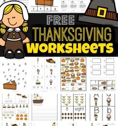 FREE Thanksgiving Worksheets for Kids [ 1591 x 1024 Pixel ]