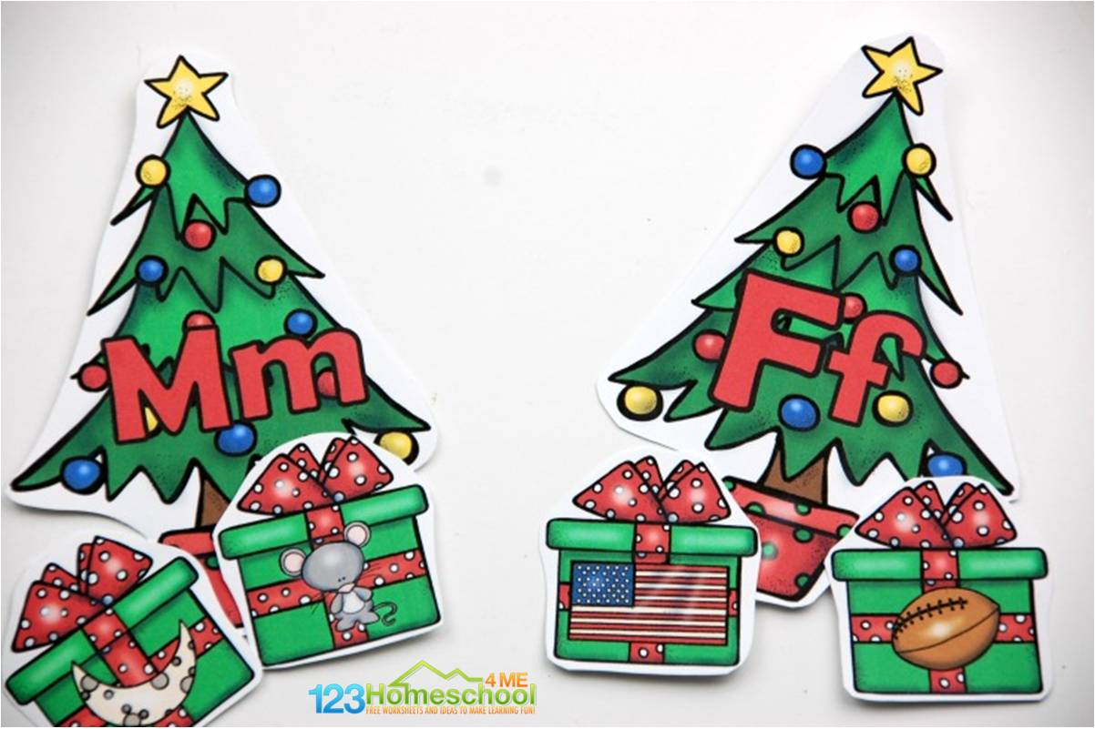 Christmas Tree Abc Game
