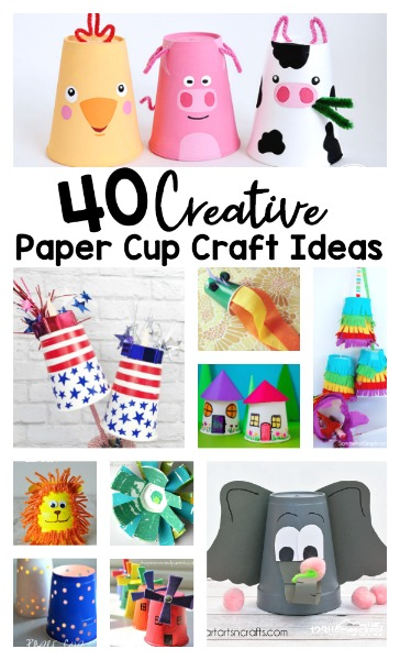 40 Creative Paper Cup Craft Ideas To Try Today