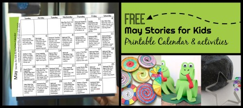 small resolution of FREE May Activity Calendar with Stories for Kids