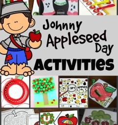 Johnny Appleseed Day Activities [ 1415 x 1024 Pixel ]