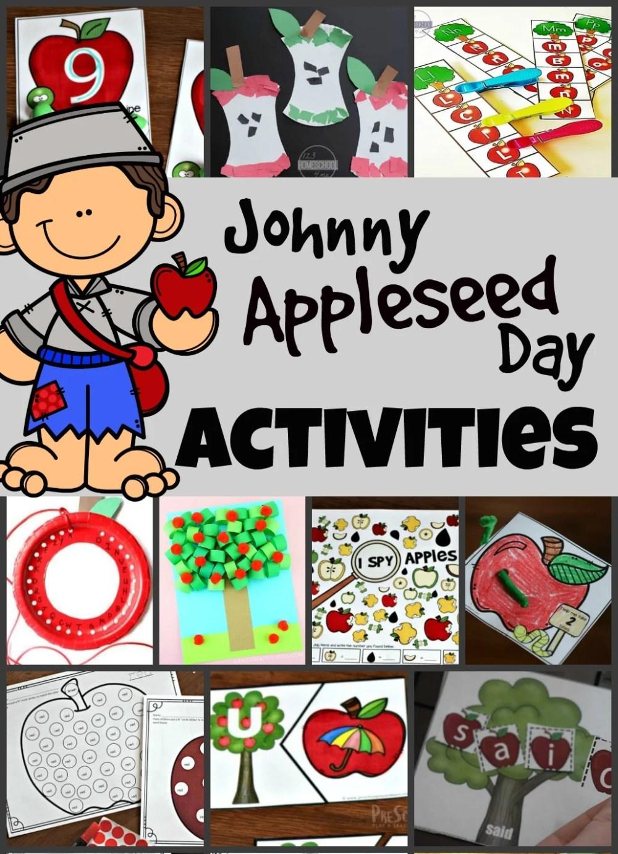 medium resolution of Johnny Appleseed Day Activities