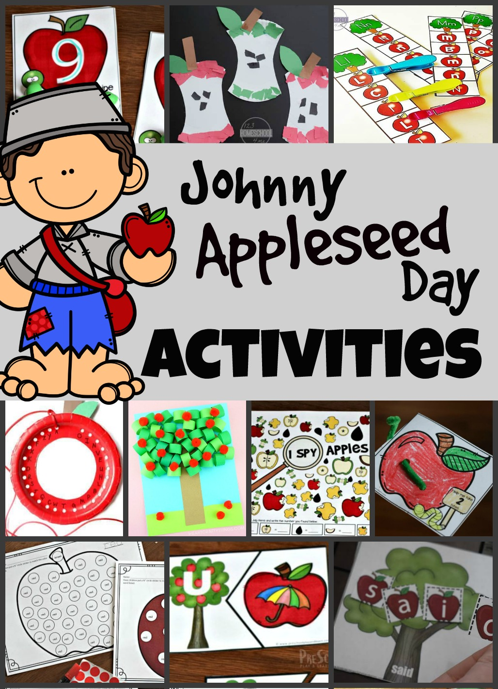 hight resolution of Johnny Appleseed Day Activities