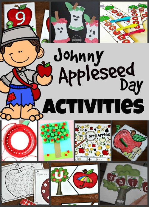 small resolution of Johnny Appleseed Day Activities