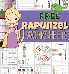 FREE Rapunzel Worksheets for Kids [ 1544 x 1024 Pixel ]