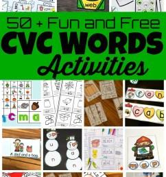 50 Fun CVC Words Activities [ 1405 x 920 Pixel ]