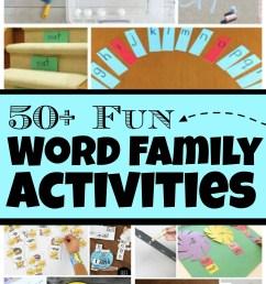50+ FUN Word Family Activities [ 1540 x 1024 Pixel ]