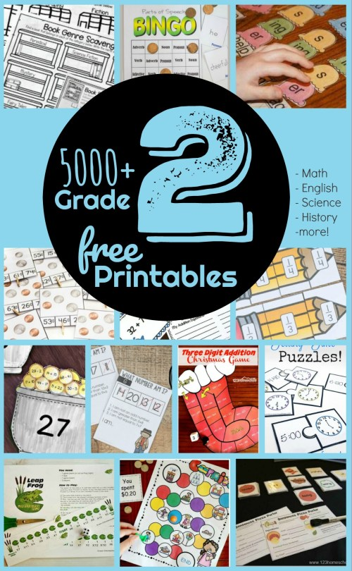 small resolution of FREE 2nd Grade Worksheets