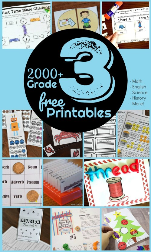 small resolution of FREE 3rd Grade Worksheets