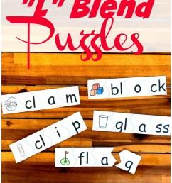 FREE L Blends Puzzles [ 1409 x 1024 Pixel ]