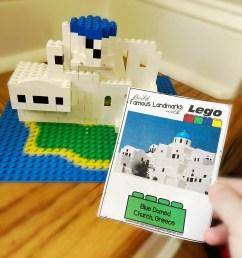 FREE Lego Famous Landmarks Challenge Cards [ 1365 x 1024 Pixel ]