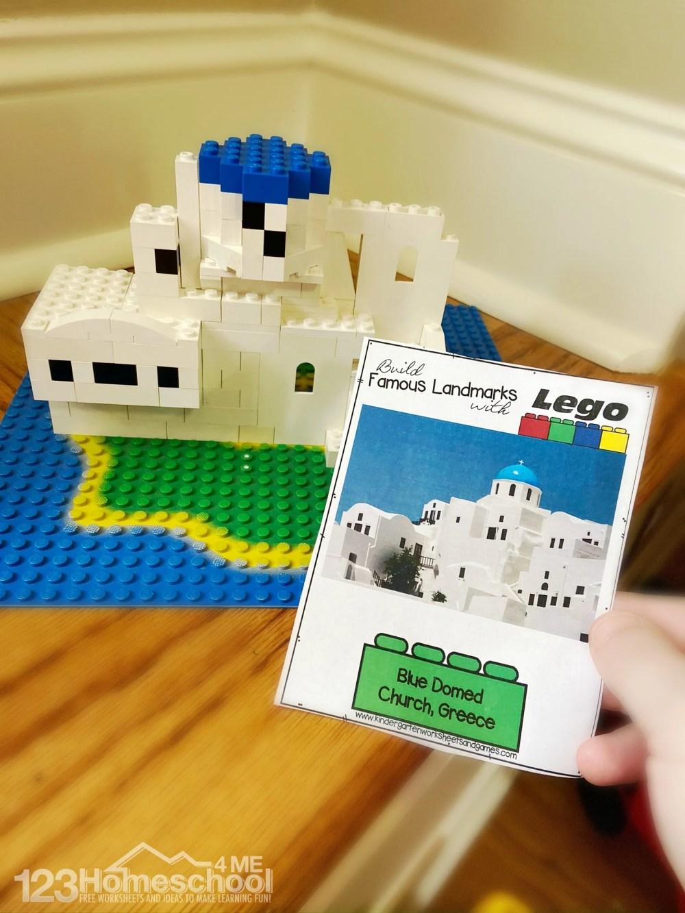 medium resolution of FREE Lego Famous Landmarks Challenge Cards