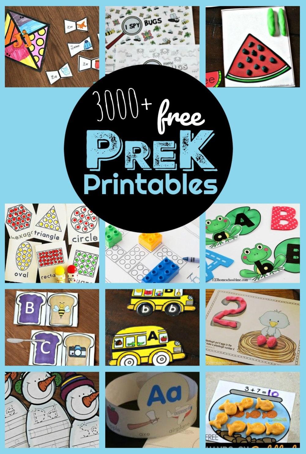 medium resolution of 3000+ FREE Pre K Worksheets