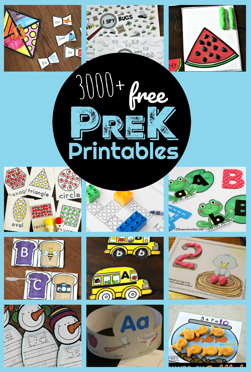 hight resolution of 3000+ FREE Pre K Worksheets