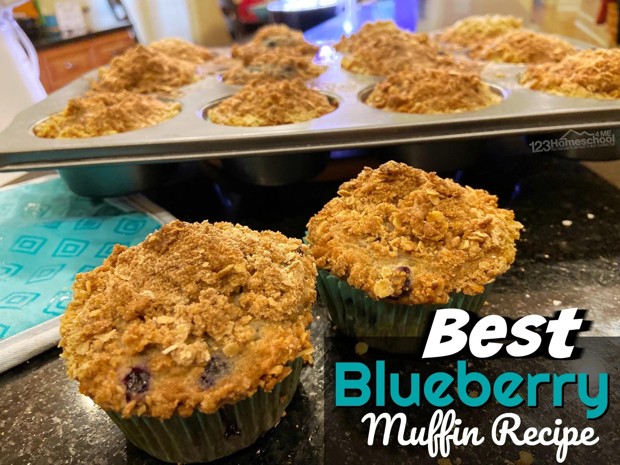 1 Best Blueberry Muffins