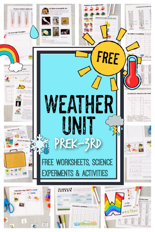 small resolution of FREE Weather Unit - Worksheets