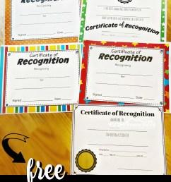 FREE Printable Certificates for Kids [ 1456 x 1024 Pixel ]