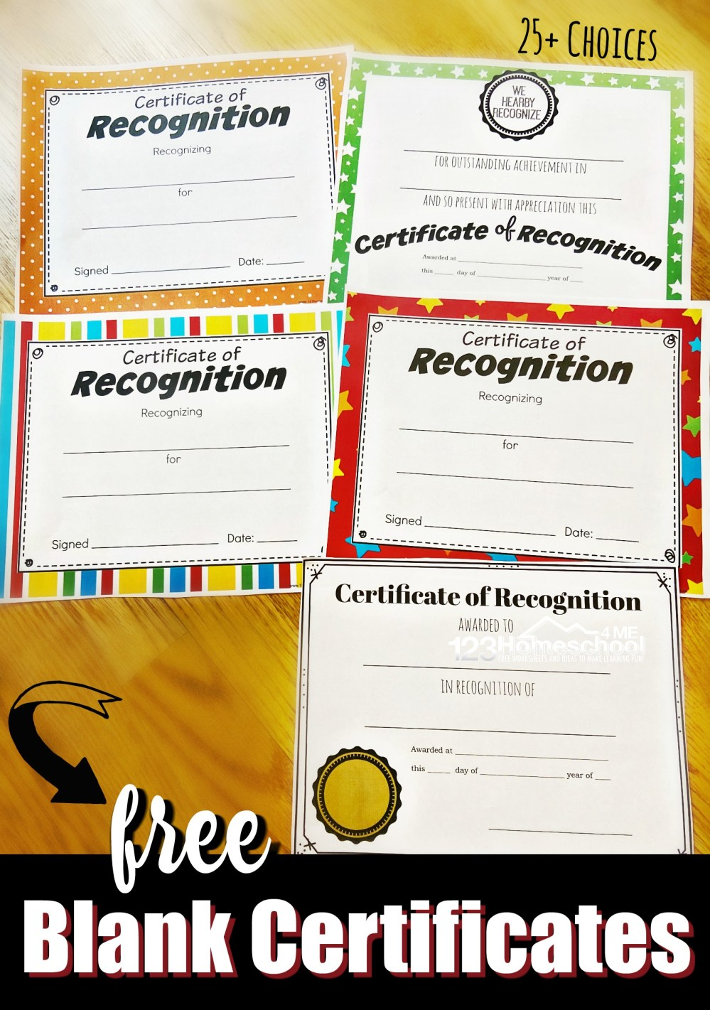 medium resolution of FREE Printable Certificates for Kids