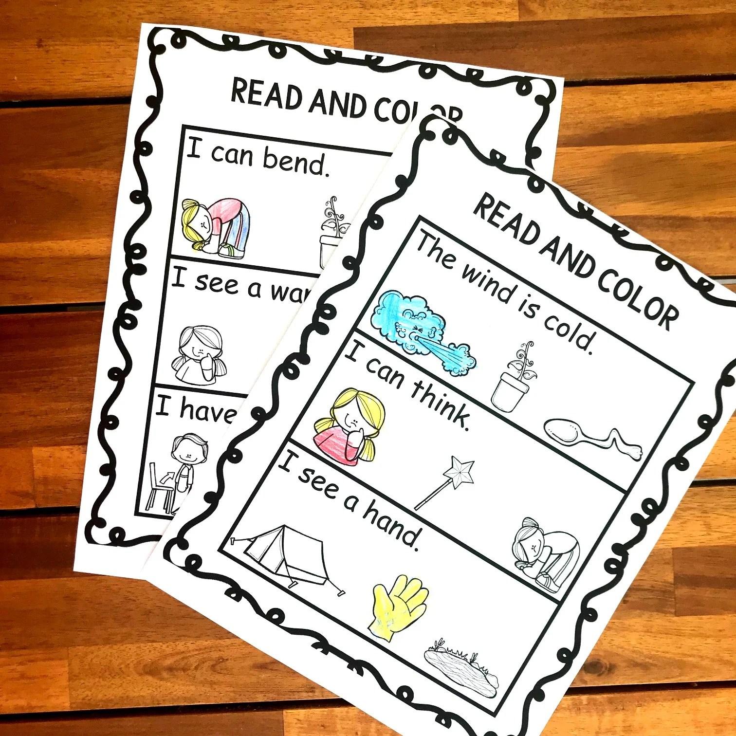 hight resolution of FREE Read \u0026 Color Ending Blends Worksheets