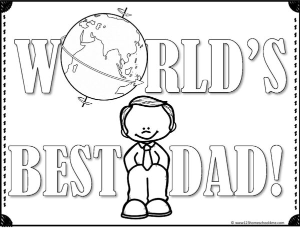 ? FREE Fathers Day Coloring Pages