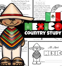 🌮 FREE Printable Mexico for Kids Worksheets [ 1024 x 1024 Pixel ]