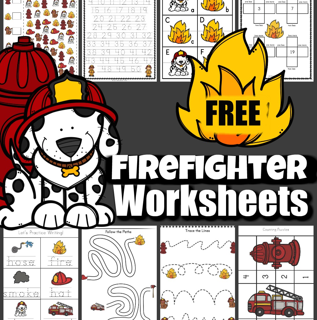 hight resolution of FREE Firefighter Worksheets