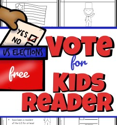 FREE Voting for Kids Reader [ 1715 x 1024 Pixel ]