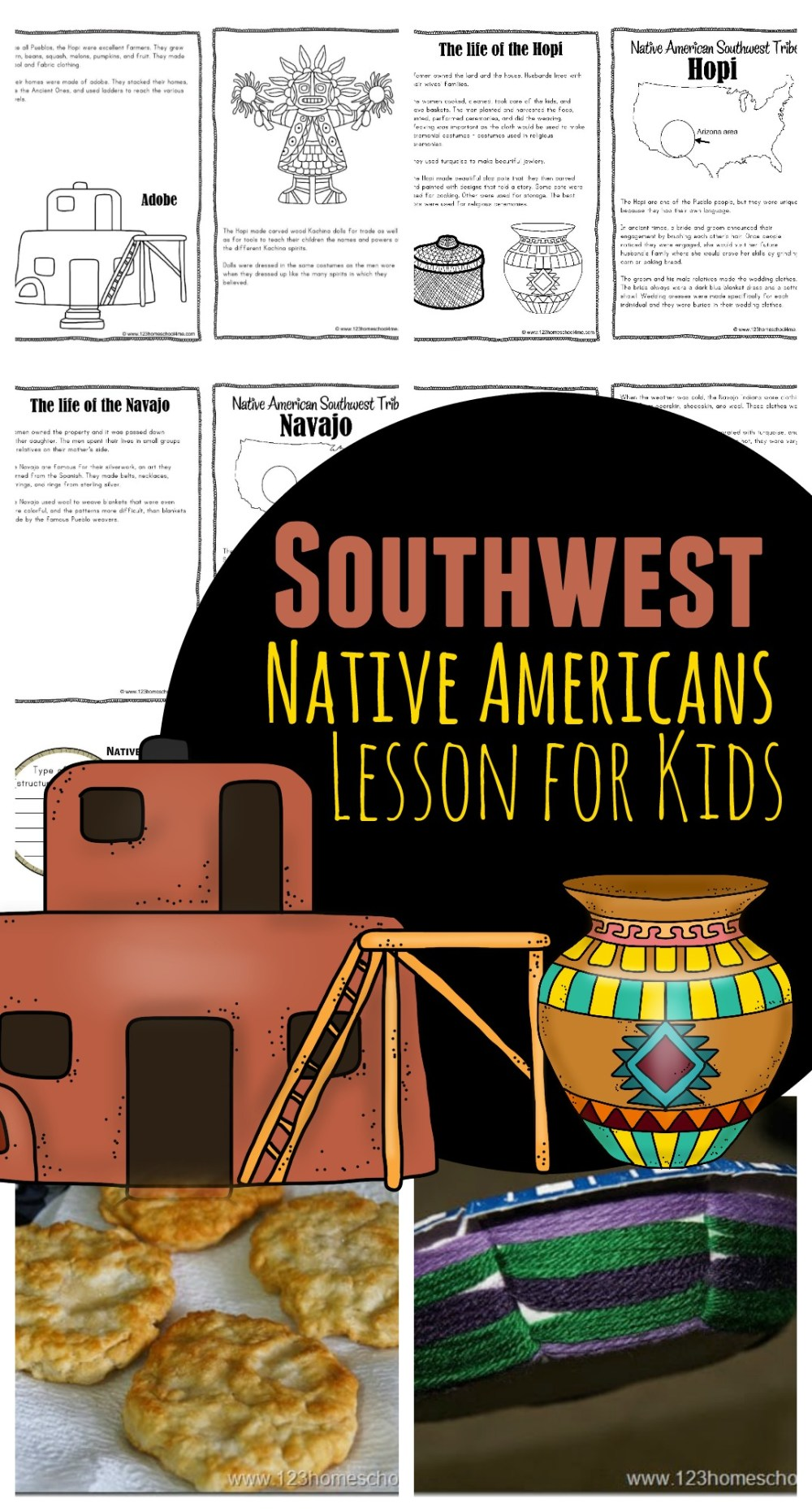 medium resolution of Southwest Native Americans for Kids