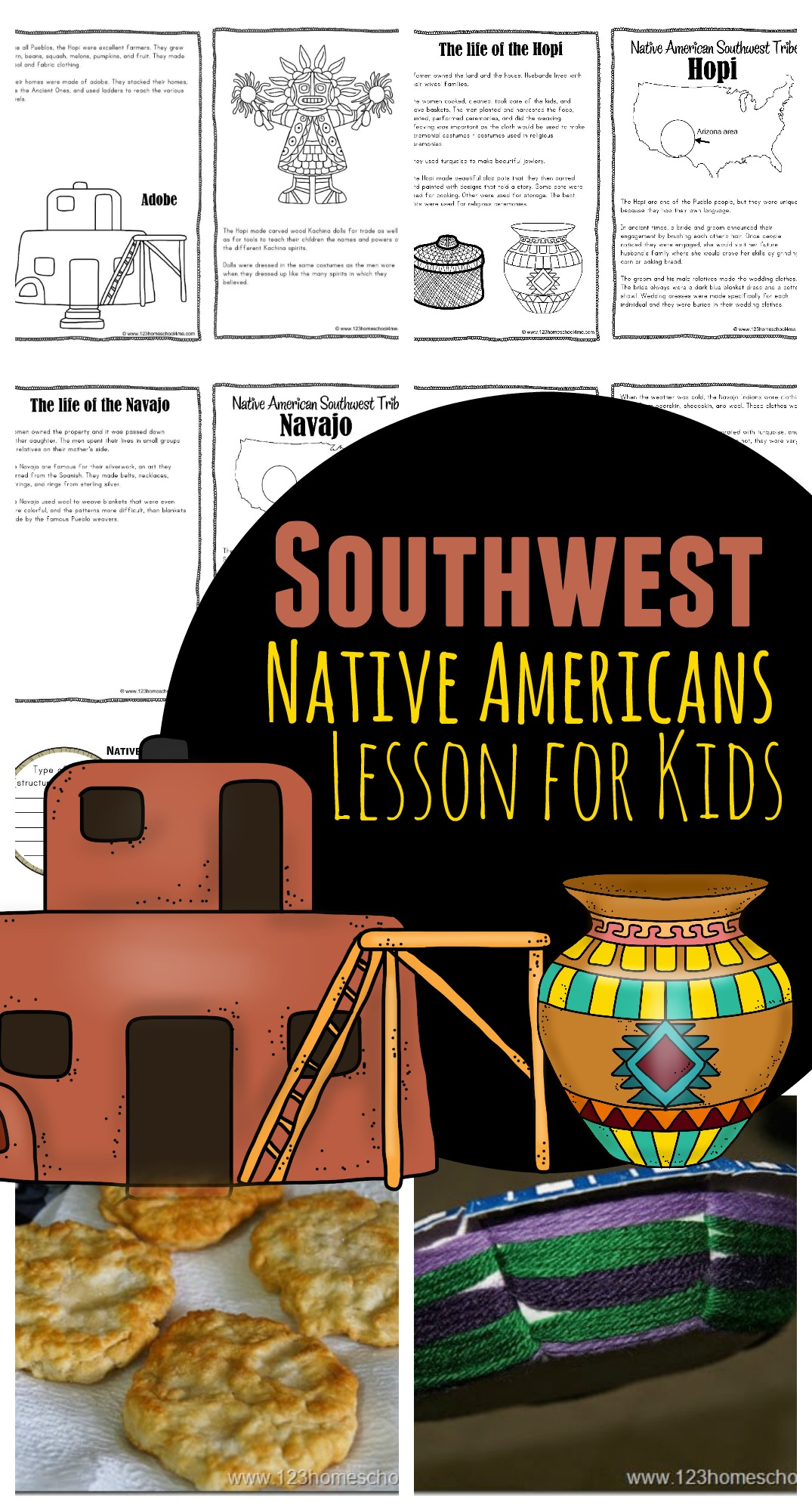 hight resolution of Southwest Native Americans for Kids
