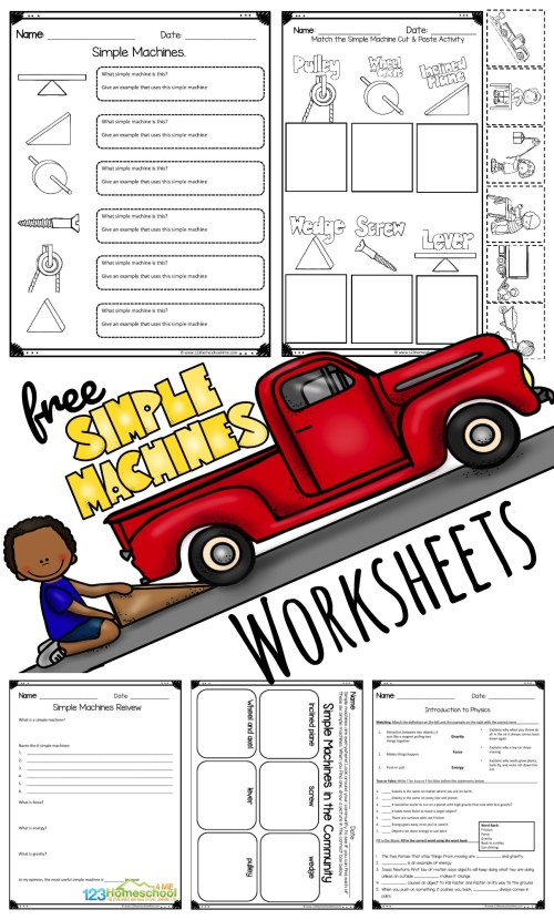 small resolution of FREE Simple Machine Worksheets