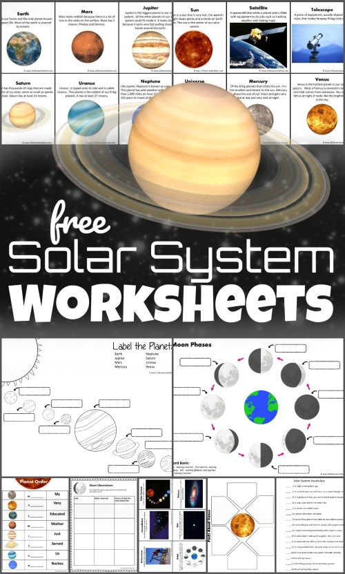 small resolution of FREE Solar System Worksheets