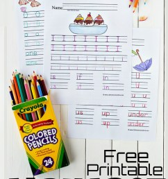 Free Printable Alphabet Worksheets [ 1698 x 1024 Pixel ]