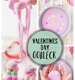 Valentines Day Oobleck - Science Play Activity for Kids [ 1500 x 1000 Pixel ]