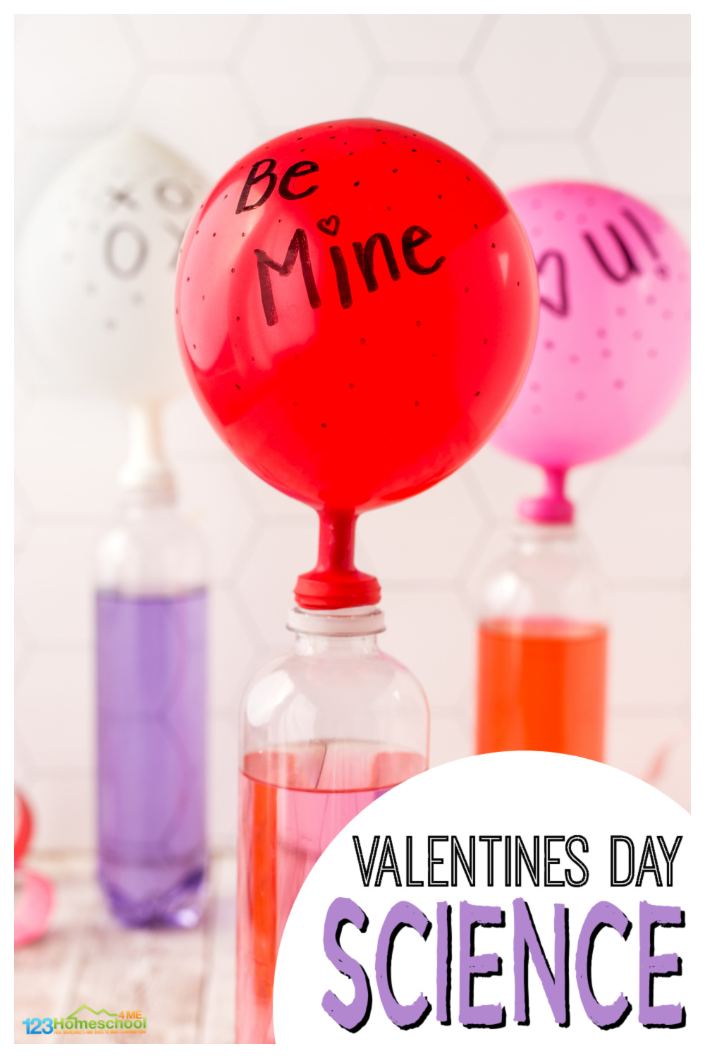 hight resolution of You Make my Heart Swell - Balloon Valentines Day Science Experiment
