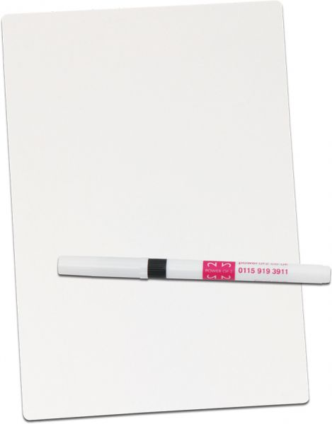 Miniwhiteboards and Drywipe pens  123 Learning