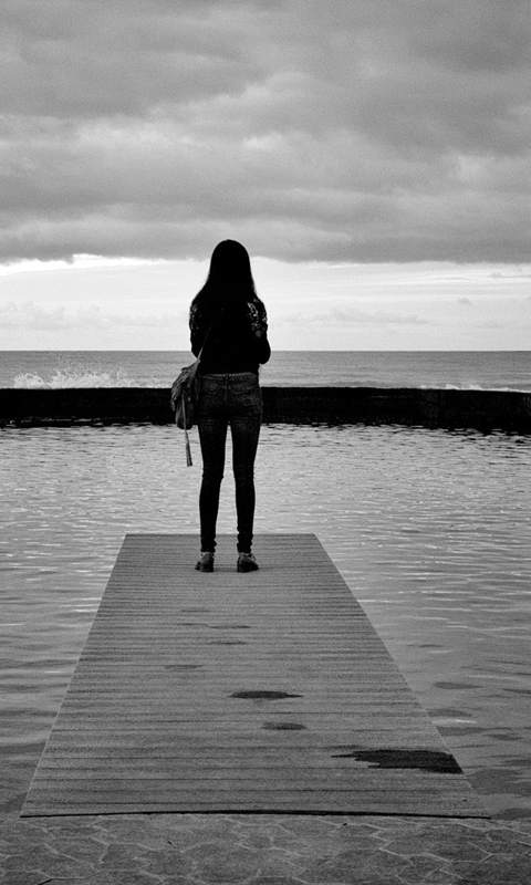 lonely girl wallpapers for mobile phones wallpapershareecom