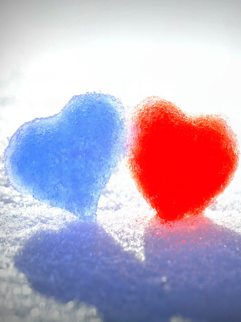 Jesus Hd Wallpapers With Quotes Red Blue Snow Heart