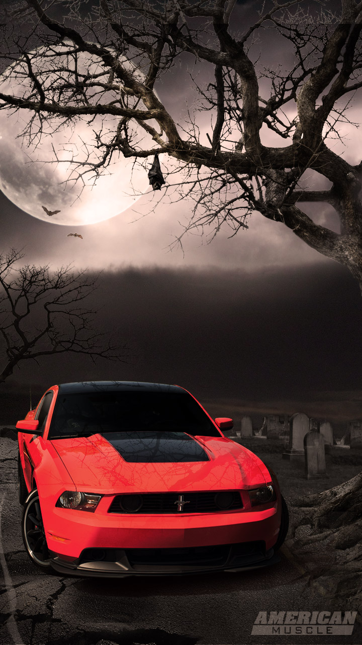 Danbo Wallpaper Quotes Mustang Night Moon