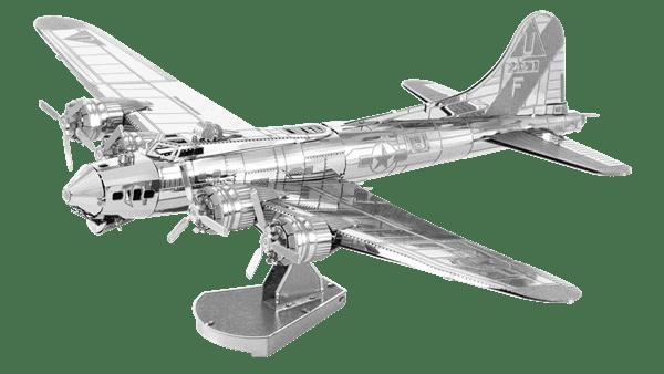 Metal Earth Modelbouw 3D B17 Flying Fortress - Metaal
