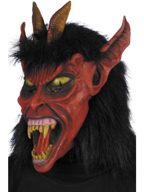 Duivel Devil Beelzebub Horror Masker
