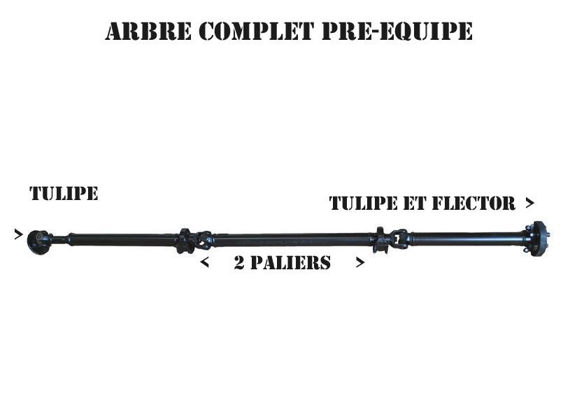 ARBRE TRANSMISSION SCENIC 4X4 RX4 COMPLET EXPÉDITION DOM